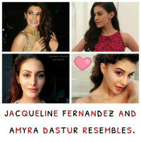 Memes, Rams, and Bollywood: LOLLY BOLLY CONFESS  INSTAG RAM  JACQUELINE FERNANDEZ AND  A MYRA  DA STURRESEMBLES 💕 agree or disagree? • bollywood jacquelinefernandez amyradastur actress dancer confession 💋