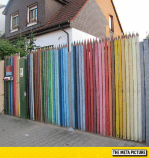 lolzandtrollz:  Awesome Pencil Fence: lolzandtrollz:  Awesome Pencil Fence