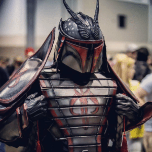 Samurai, Tumblr, and Blog: lolzandtrollz:Badass Samurai Boba Fett