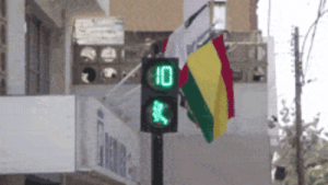 Tumblr, Blog, and Http: lolzandtrollz:  Pedestrian Light In Peru