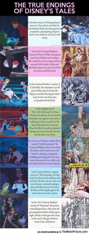 lolzandtrollz:  The Real Endings Of Disney's Tales: lolzandtrollz:  The Real Endings Of Disney's Tales