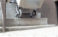 Tumblr, Blog, and Http: lolzandtrollz:  Wheels Designed For Stairs