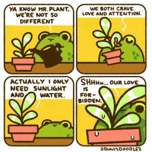lonely plant lovers be like [OC]: lonely plant lovers be like [OC]