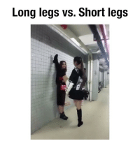 Memes, Videos, and 🤖: Long legs vs. Short legs follow @comediic for more videos ✨✨