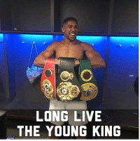 """Boxing, Fall, and Memes: LONG LIVE  THE YOUNG KING I don't usually get into debating on social media too much but I have got to address something. 👉🏼 First I Have Got to Tip my Hat to the Young Champ @anthony_joshua . I Can't Help but notice all the Hate he's already receiving from all these so called """"Boxing Fans"""". """"He Got Exposed, He Got Out Boxed, Wilder would of did this, Fury would of did that, A Younger Wlad would of KO'd Him, ETC """". It's just sickening to read. Let me take a second to enlighten the weak that fall into reading what these haters put out on social media. Number 1 anthonyjoshua was only 18-0 and that was his 3rd tittle fight, so with no real championship experience, and not hiding behind his promotional team and also not fighting a guy ranked 15 he took on a seasoned vet like klitschko who learned so much from Legendary trainer Emanuel Steward, and who had been in 28 world tittle fights, dominated a division (weak or strong) for over 10 years , who's in shape for every fight, who to me last night looked better then he did in his last few fights. Joshua came into this fight looked good early (Wasn't getting out boxed), scored a knockdown in the 5th, gassed out (I even thought he was done) Got knockdown in the 6th by Wlad, got up, got his second wind and was able to weather the storm coming back to knockdown Wlad 2x before stopping him in the 11th. If that don't show you heart and will by Joshua you are blind. Yea Joshua got hurt , but all great fighters got hurt and came back to win that's what champions do just watch a (Tito, Evander, Lennox, Duran, Gatti, Barrera, Morales) Fight Just to name a few. Respect the fighters accomplishment and salute to the Young Champ @anthony_joshua"""