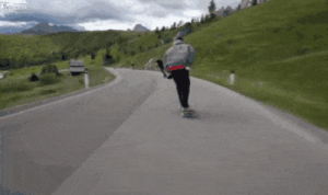 Longboarder slows down to overtake cyclistsomg-humor.tumblr.com: Longboarder slows down to overtake cyclistsomg-humor.tumblr.com