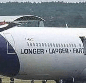 Smell, Fart, and Why: LONGER LARGER FART So thats why airports smell like that.