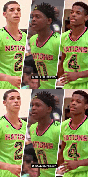Lonzo Ball, DeAaron Fox and Dennis Smith played on the same team for an event as 10th graders... They won the whole thing. https://t.co/COa32BSQXY: Lonzo Ball, DeAaron Fox and Dennis Smith played on the same team for an event as 10th graders... They won the whole thing. https://t.co/COa32BSQXY