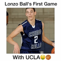 What Pick will he be in the 2017 NBA Draft?!👇🏻 Follow me (@DunkFilmz) for More!😈🔥: Lonzo Ball's First Game  HILL  With UCLA What Pick will he be in the 2017 NBA Draft?!👇🏻 Follow me (@DunkFilmz) for More!😈🔥