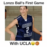 What Pick will he be in the 2017 NBA Draft?!👇🏻 Follow me (@basketballsyndrome )for More!😈🔥: Lonzo Ball's First Game  HILL  With UCLA What Pick will he be in the 2017 NBA Draft?!👇🏻 Follow me (@basketballsyndrome )for More!😈🔥