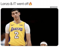 Nba, Spurs, and Down: Lonzo & IT went off  ONBAMEMES  wish  AKERS  2 Lonzo Ball & IT take down the Spurs.
