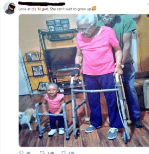 Little girl loves her gran gran so much! by Betamonero MORE MEMES: Look at dis 'lil gurl. She can't wait to grow up  O 53K  17 7.4K  O 80 Little girl loves her gran gran so much! by Betamonero MORE MEMES