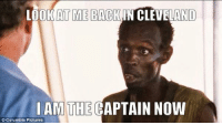 """I never thought an """"I'm the captain now"""" meme would make me laugh again. @SkinnyLebron proved me wrong!: LOOK AT ME BACK IN CLEVELAND  I AM THE  CAPTAIN NOW  Columbia Pictures I never thought an """"I'm the captain now"""" meme would make me laugh again. @SkinnyLebron proved me wrong!"""