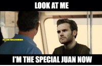 Juan Mata remembering how Mourinho sold him back at Chelsea and how he's carrying Man United for him now.: LOOK AT ME  FBICOWSOCCERMEMES  IMTHE SPECIAL JUAN NOW Juan Mata remembering how Mourinho sold him back at Chelsea and how he's carrying Man United for him now.