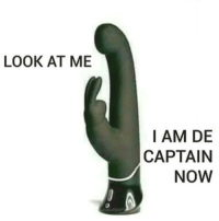 LOOK AT ME  I AM DE  CAPTAIN  NOW Look, @caffeineheadache is the captain now, so let's just accept it😮🛥 lmao rabbit im the captain look at me lol