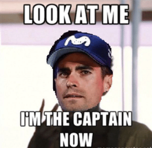 Team, Now, and Tour: LOOK AT ME  IM THE CAPTAIN  NOW Movistar Pre-Tour Team Meeting