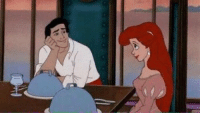 Look at me like prince Eric looks at Ariel