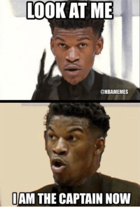 LOOK AT ME  @NBAMEMES  IAM THE CAPTAIN NOW Jimmy Butler be like... #Bulls Nation Credit: JonMark Swain