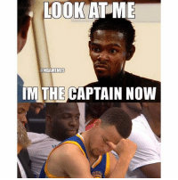 LOOK AT ME  ONBAMEMES  IM THE CAPTAIN NOW  DEN Goodmorning