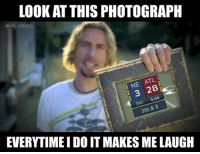 Memes, Nfl, and Atl: LOOK AT THIS PHOTOGRAPH  @NFL MEMES  ATL  I NE  3 28  3RD  4:44  8  3RD  EVERYTIME I DO IT MAKES ME LAUGH Credit: Lüis Guzmán