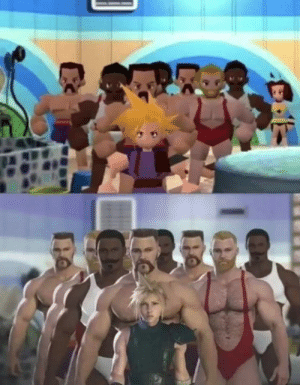 Dank, 🤖, and Looking: Looking forward to FF VII remake