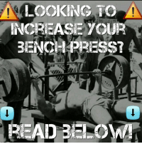 Want to increase your bench press 50+ pounds fast? Click the link in my bio and it will explain proven methods that have helped thousands increase their bench press! All your questions finally answered! Clickable link in my bio💪: LOOKING TO  BENCH PRESs Want to increase your bench press 50+ pounds fast? Click the link in my bio and it will explain proven methods that have helped thousands increase their bench press! All your questions finally answered! Clickable link in my bio💪