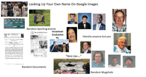 Looking Up Your Own Name On Google Images: Looking Up Your Own Name On Google Images