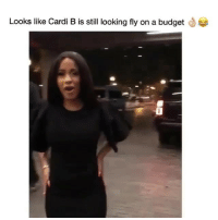 Funny, Budget, and Back at It Again: Looks like Cardi B is still looking fly on a budget  0 Cardi B back at it again @FashionNova