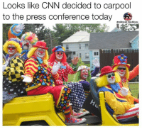 cnn.com, Friends, and Memes: Looks like CNN decided to carpool  to the press conference today  omillennial republicans Tag some friends 😂🇺🇸 CNNsucks . . . . . . . 🇺🇸ALL WATERMARKED MEMES ARE WRITTEN BY MILLENNIAL REPUBLICANS BUT WE DO NOT OWN THE PHOTOS WITHIN THE MEMES🇺🇸 MAGA millennialrepublicans donaldtrump buildthewall mypresident merica ronaldreagan fakenews makeamericagreatagain liberallogic americafirst trumptrain triggered presidenttrump snowflakes PARTNERS🇺🇸 @conservative_comedy_ @always.right @conservative.nation1776 @rebelrepublican @conservative.american