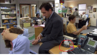 Looks like Jim liked to play his PSP during shooting breaks.: Looks like Jim liked to play his PSP during shooting breaks.