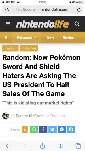 Looks like the haters of Pokemon Sword and shield just hit a new low.: Looks like the haters of Pokemon Sword and shield just hit a new low.