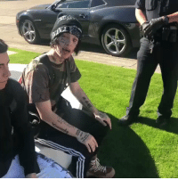 Music, Police, and Air: Looks like the police were called on Lil Xan at his Air B&B because he was playing loud music! 🎶😳😩 @lilxanfuhyobih https://t.co/Goq2oPS8WA