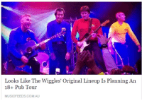 Fucking, Target, and Tumblr: Looks Like The Wiggles' Original Lineup Is Planning An  18+ Pub Tour  MUSICFEEDS.COM.AU roguesquadron2:  handsomejackass:  can't wait to get fucking smashed while hot potato plays in the background   catch me in the pit during fruit salad