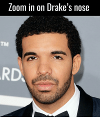 Dank Memes, Loom, and Nose: Loom in on Drake's nose