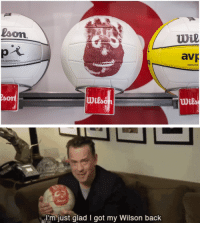 "Tumblr, Blog, and Game: loon  wl  av  CA GAME BALL  REPLICA  wils   I'm just glad I got my Wilson back <p><a href=""http://srsfunny.net/post/163125283686/wiiilsooooon-youre-such-a-sellout-wilson"" class=""tumblr_blog"">srsfunny</a>:</p> <blockquote> <p><b>  WIIILSOOOOON you're such a sellout! </b></p> <p><b><a href=""https://novelty-gift-ideas.com/wilson-castaway-volleyball/"">  Wilson Castaway Volleyball</a><br/></b>  <br/><br/></p> </blockquote>"