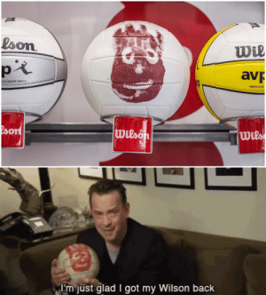 Tumblr, Blog, and Game: loon  wl  av  CA GAME BALL  REPLICA  wils   I'm just glad I got my Wilson back srsfunny:   WIIILSOOOOON you're such a sellout!    Wilson Castaway Volleyball