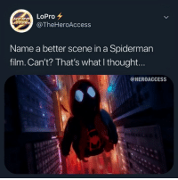 "And you can't say ""PiZzA TiMe"" - - - - - marvel mcu marvelcomics dc dceu dccomics movies popculture media entertainment funny comedy ironman captainamerica spiderman blackpanther superman batman theflash wonderwoman aquaman twitter tv viral comics hero superhero milesmorales spiderverse: LoPro  @TheHeroAccess  HERO  Name a better scene in a Spiderman  film. Can't? That's what I thought...  @HEROACCESS And you can't say ""PiZzA TiMe"" - - - - - marvel mcu marvelcomics dc dceu dccomics movies popculture media entertainment funny comedy ironman captainamerica spiderman blackpanther superman batman theflash wonderwoman aquaman twitter tv viral comics hero superhero milesmorales spiderverse"