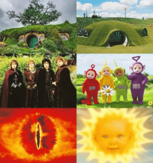 Lord of the rings is a teletubby knockoff, change my mind: Lord of the rings is a teletubby knockoff, change my mind
