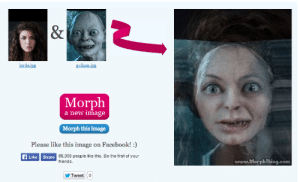 bayisbae:  lorde of the rings : lorde.ipg  gollum.İpg  Morph  a new image  Morph this image  Please like this  image on Facebook!)  Like Share  66,309 people like this. Be the first of your  friends  www.MorphThing.com  Tweeto bayisbae:  lorde of the rings