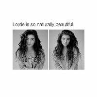 love her: Lorde is so naturally beautiful love her