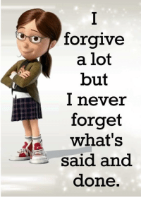 I Never Forget