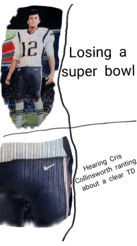 Nfl, Super Bowl, and Nice: /Losing a  super bowl  Hearing Cris  Collinsworth ranting  about a clear TD