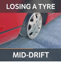 Definitely, Memes, and 🤖: LOSING A TYRE  MID-DRIFT Definitely not what you want mid-drift! Make sure you follow Kame Trick @kametrick