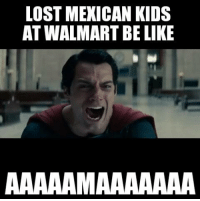 Mexican kids be like!: LOST MEXICAN KIDS  AT WALMART BELIKE  AAAAAAMAAAAAAA Mexican kids be like!