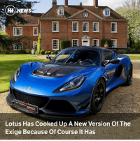 Memes, Lotus, and 🤖: Lotus Has Cooked Up A New Version Of The  Exige Because of Course It Has Via @carthrottlenews - The ladies and gents at Hethel have given the Exige another fiddle, resulting in the Exige Cup 380 - the most hardcore road-going Exige ever.