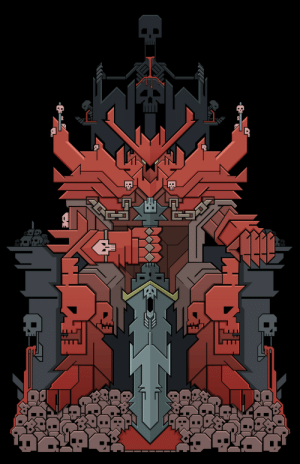 loufisch:  KhorneThere were not that many visual depictions of Khorne so I decided to be creative. Instead of using color schematics from descriptions I decided to use an excessive amount of red: loufisch:  KhorneThere were not that many visual depictions of Khorne so I decided to be creative. Instead of using color schematics from descriptions I decided to use an excessive amount of red