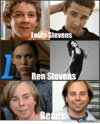 Louis Stevens  S  Ren Steven  meme Center.com Even Stevens cast through the years.