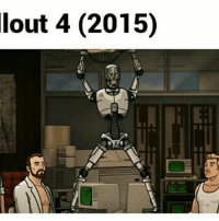 lout 4 (2015) Lmao i need to watch archer at one point [Credit: @dracodeathclaw ] Fallout4 FalloutNV Fallout3 Bethesda Fallout Fallout2 FalloutTactics FalloutBOS Railroad Enclave Institute Minutemen