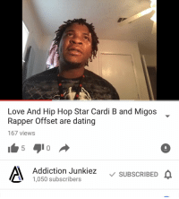 is cardi b dating offset from migos