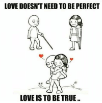 Memes, 🤖, and Msg: LOVE DOESNTNEED TO BE PERFECT  LOVE IS TO BE TRUE MSG